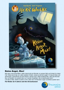 Keine Angst, Max! Cover
