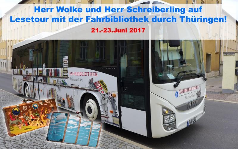 Herr Schreiberling unterwegs